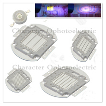 LED UV Purple integrated chips 365 375 385 395 405 425NM High Power COB Ultraviolet Lights 3/5/10/20/30/50/100 Watt