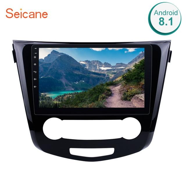 Seicane 10.1 Cal 2Din Android 8.1 Radio samochodowe do 2016 Nissan Qashqai nawigacja GPS z Bluetooth Audio Multimedia odtwarzacz jednostka główna