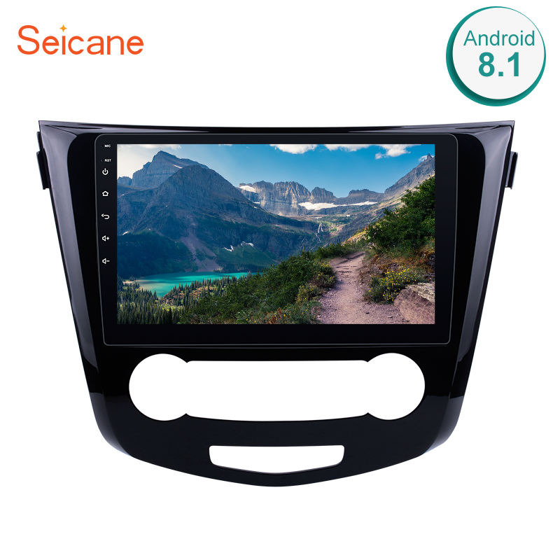 Seicane 10.1 Inch 2Din Android 8.1 Car Radio For 2016 Nissan Qashqai GPS Navigation Bluetooth Audio Multimedia Player Head Unit