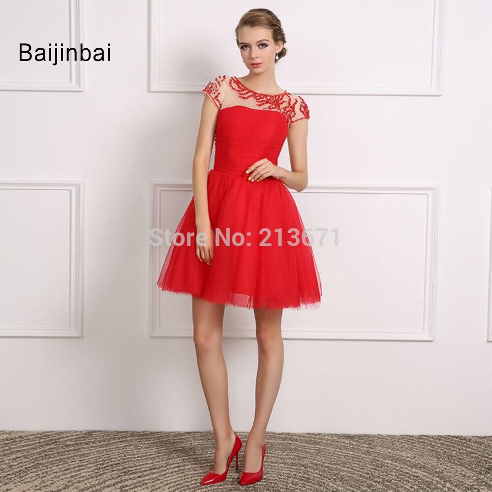 Online Get Cheap Short Red Wedding Dress -Aliexpress.com | Alibaba ...