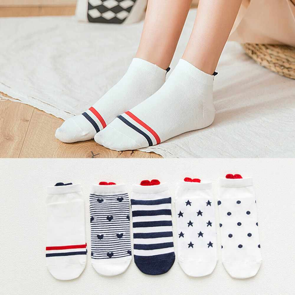 Home&Nest Thin Socks For All Season Women Men Socks Casual Work Heart-shaped Cotton Love Sock Comfortable calcetines divertidos