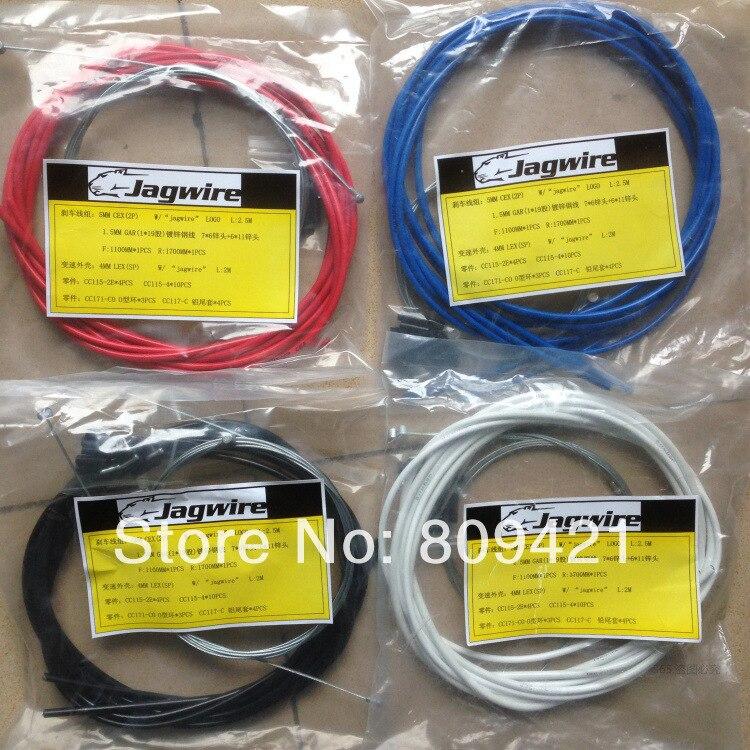 Whole Sale 30sets lot Jagwire MTB road bike brake cable full set Cycling BICYCLE BIKE JAGWIRE