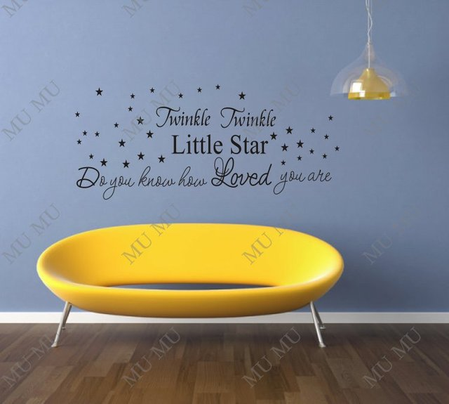 Twinkle twinkle little star do you know how loved you are BIG SIZE45 ...