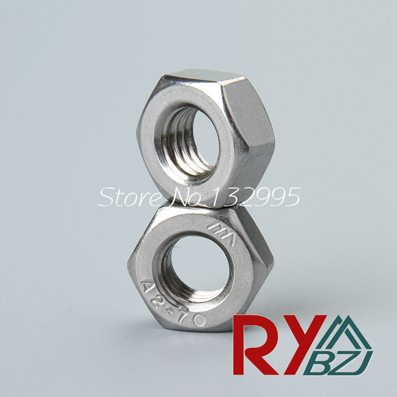 50pcs/lot Stainless steel hex nut Inch Thread UNC hex nut 2#-56 4#-40 6#-32 8#-32 10#-24 1/4-20 5/16-18 3/8-16 7/16-14 1/2-13 1 4 20 5 16 18 3 8 16 unc screw thread round die tools 3 pcs