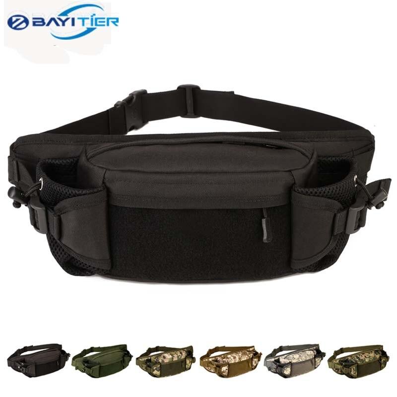 imágenes para Impermeable bolso de la cintura molle táctico para xiaomi riñonera senderismo pesca caza deportiva de cintura bolsas de deportes tácticos bolsa de cinturón