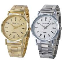 Geneva Women Faux Leather Analog Quartz Wrist Watch relogio feminino erkek kol saati mens watches skmei saat montre femme