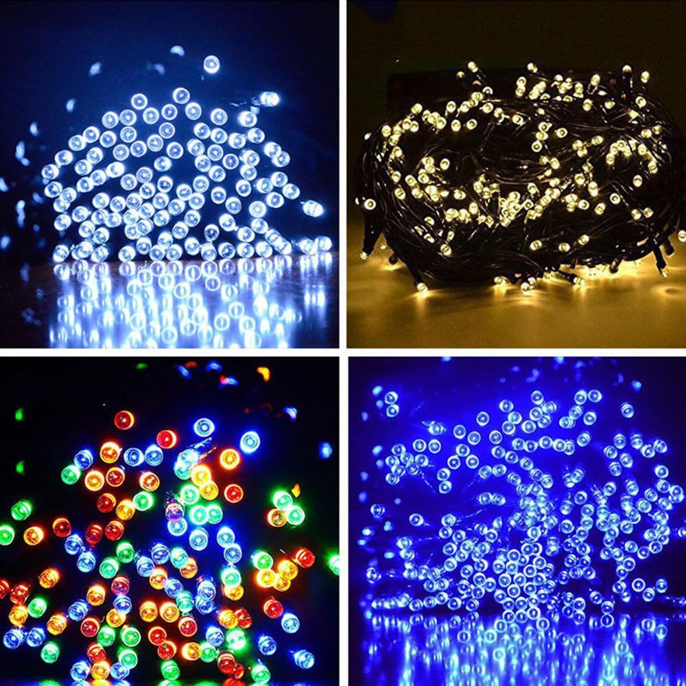 Luces solares de cadena LED Al aire libre, a prueba de agua de hadas, - Iluminación exterior - foto 2