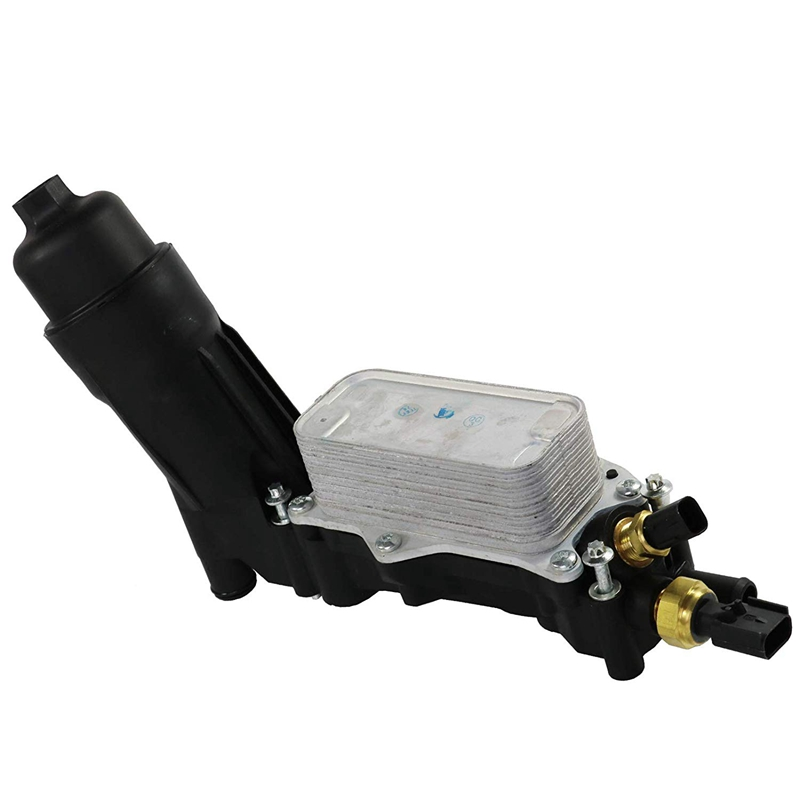 Pour 11-13 Jeep Dodge Chrysler 3.6L V6 moteur refroidisseur d'huile filtre logement 5184294Ae