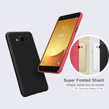 For Galaxy J7 Nxt J701F Case Nillkin Frosted Shield Hard Back Cover for Samsung Galaxy J7 Neo J701M Plastic Shell+ Free Film HD8