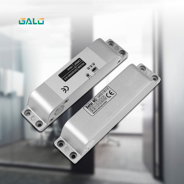 Electric Bolt Lock For Fully Frameless Door Access Control System Door Lock Electric Lock Low Temperature Electric Bolt Lock