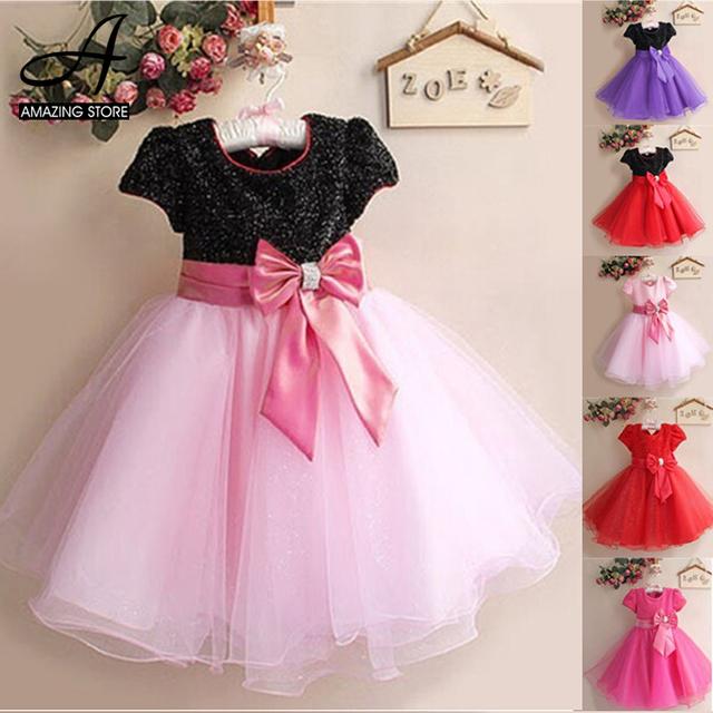 2015 Nuevo vestido de la Princesa niña vestido de princesa vestido infantil festa menina niños ropa vestido de festa infantil