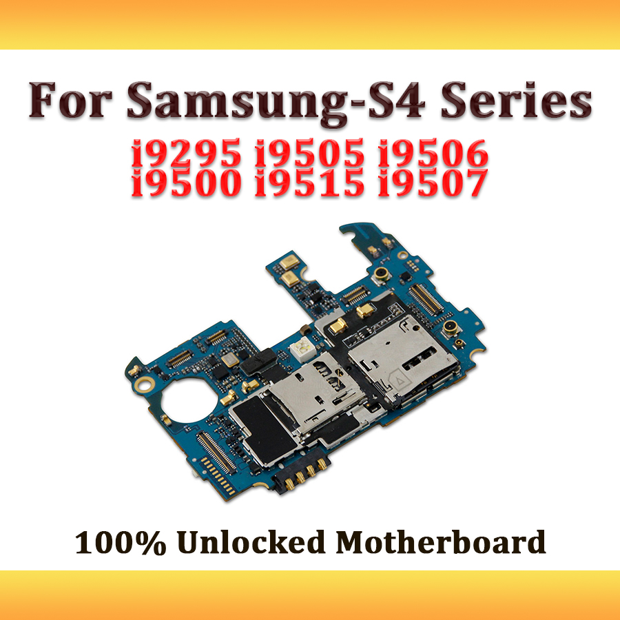 small resolution of full working used unlocked 3g for samsung galaxy s4 i9295 i9505 i9506 i9500 i9515 i9507 motherboard