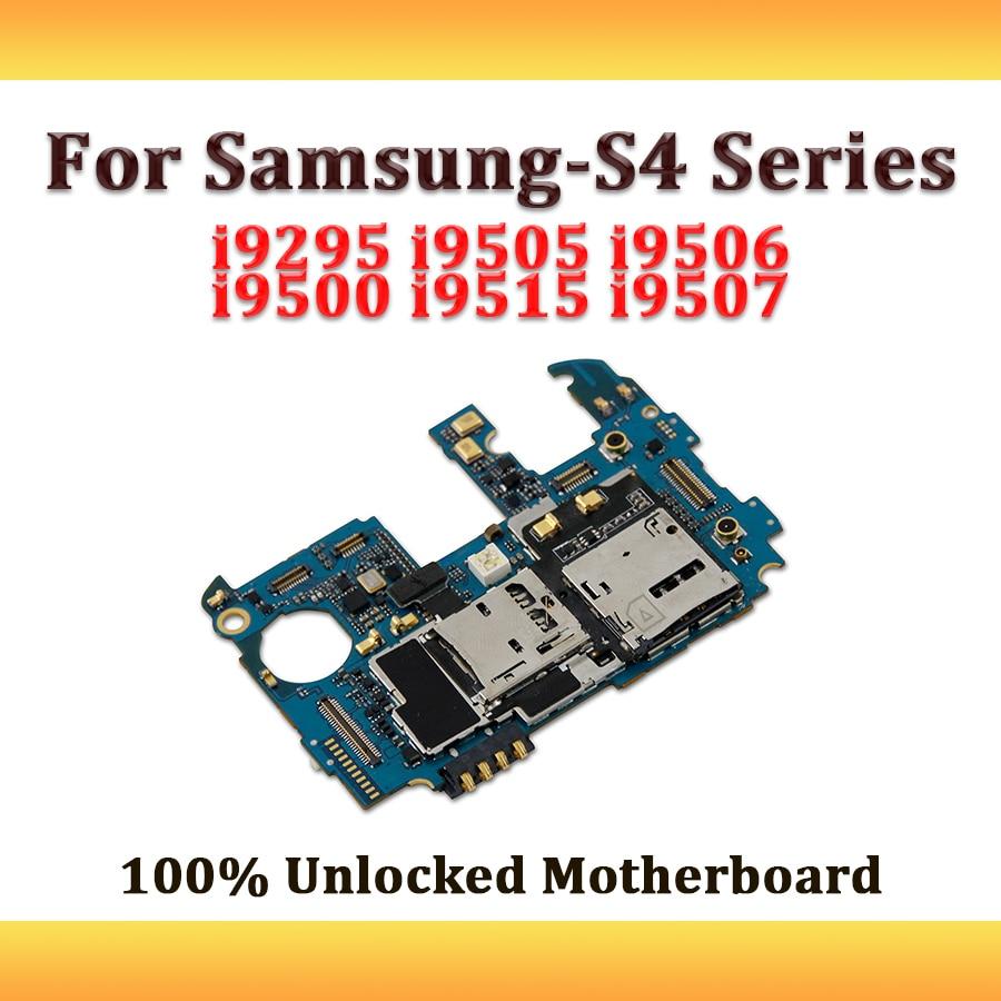 hight resolution of full working used unlocked 3g for samsung galaxy s4 i9295 i9505 i9506 i9500 i9515 i9507 motherboard