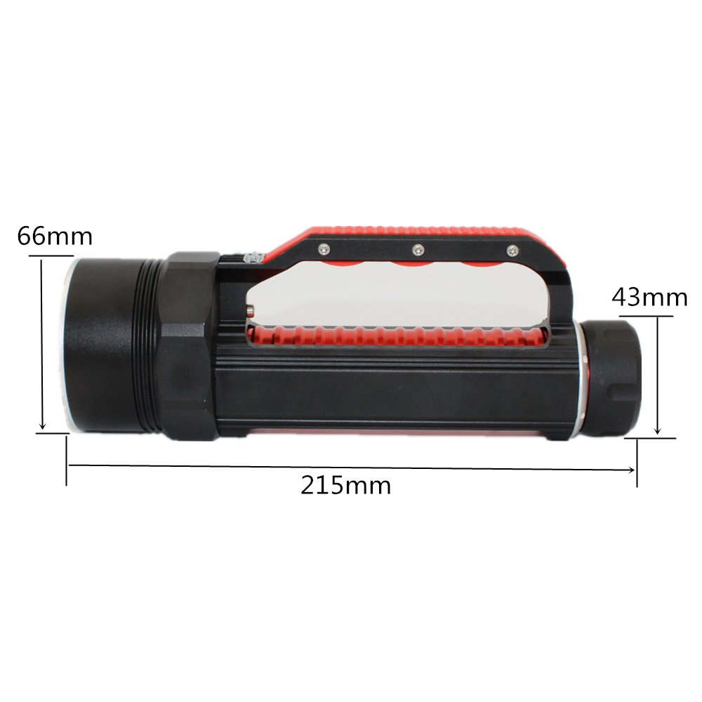 Uranusfire 395nm UV Diving Flashlight blacklight Underwater Lamp Professional Ultraviolet/White Light LED Waterproof Dive Torch
