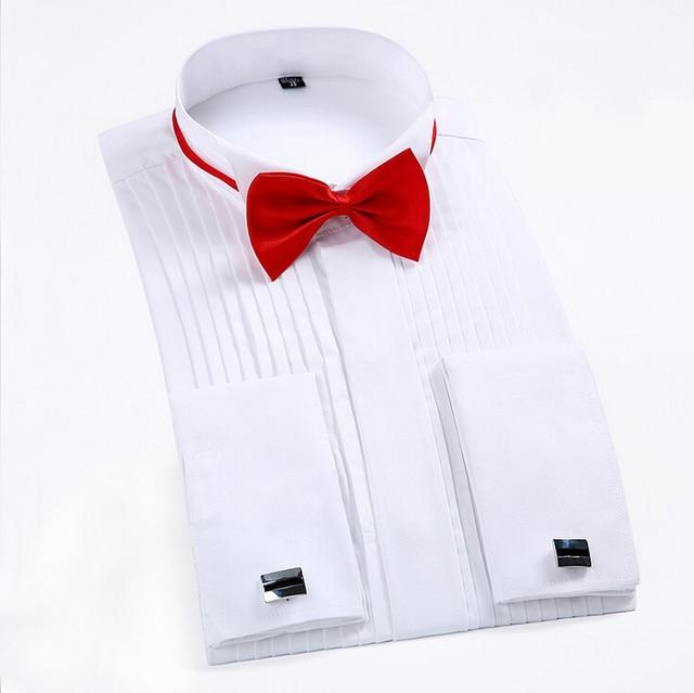 chemise de manches longues nouveaux robe 2018 hommes à mariage fold pqY8CZwR