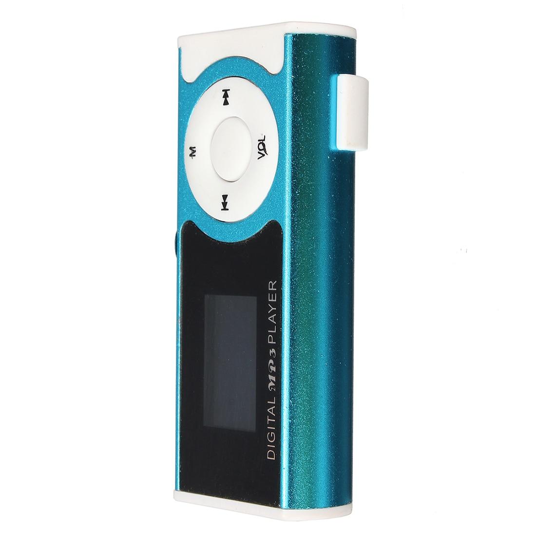 Hfes Mini Usb Clip-player Mp3-player Lcd-bildschirm 16 Gb Mini Sd Tf Karte Mp3-player Tragbares Audio & Video