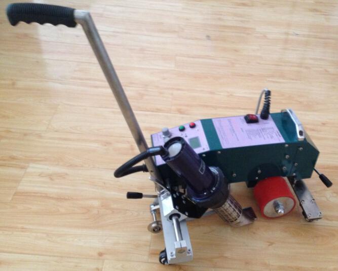 Offre spéciale automatique sans colle en aluminium bijoux laser pour plastique/pvc/bâche/toile machine à souder en chine
