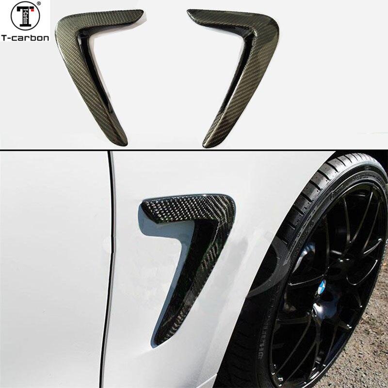 Для BMW F32 F36 углеродное крыло световая обшивка 4 серии F32 F33 F36 замена углеродного волокна обшивка автомобильные аксессуары 2014 2016