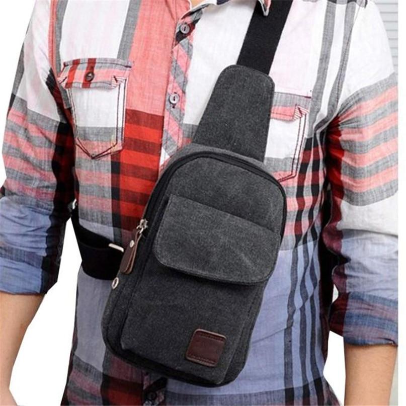 Multifunction Diagonal shoulder chest bag sports bag Men Outdoor Sport Leg Bag Canvas Waist Bag Money Belt Fanny Pack #2a (3)