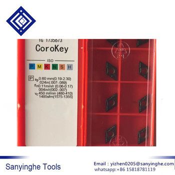 free shipping high quality 50pcs/lots DCMT070204-PM 4225 / DCMT070204-PM 4235 / DCMT070204-PM 4325 cnc carbide turning  inserts