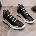 Nuevos zapatos para hombre casual chaussure homme balanceds hombres moda tubular negro zapatos de lona de la marca de calidad superior