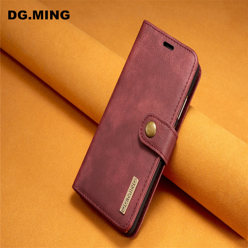 Huawei P10 Plus оригинальный телефон крышка съемная 2-в-1 бумажник Магнит флип стент слот для карты принципиально p10 плюс крышка смартфона