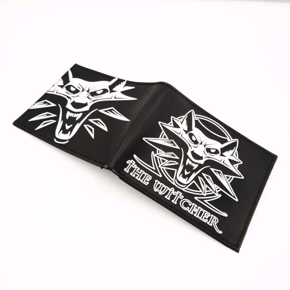 3D Wolf Head Embossing Game Wallet The Witcher Wallet Women Men Animal Purse Credit Card Holder Bag Anime Wallet W389 3d wolf head embossing game wallet the witcher wallet women men animal purse credit card holder bag anime wallet w389
