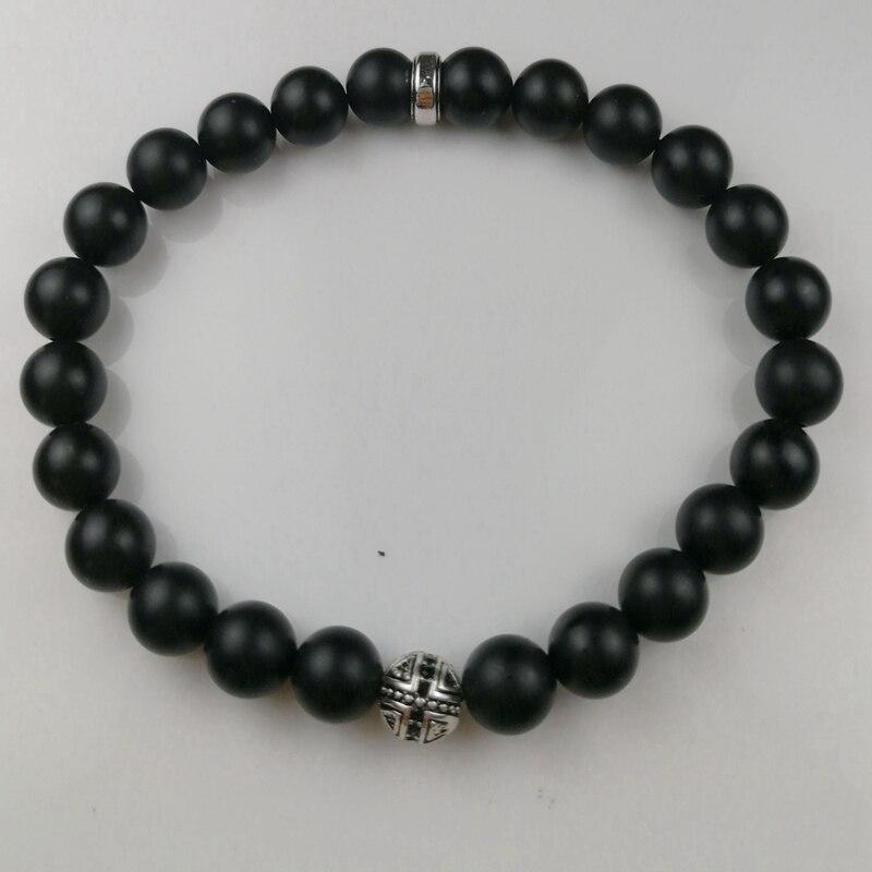 Купить браслет с бусинами в виде черепа томаса обсидиана 8 мм ювелирные