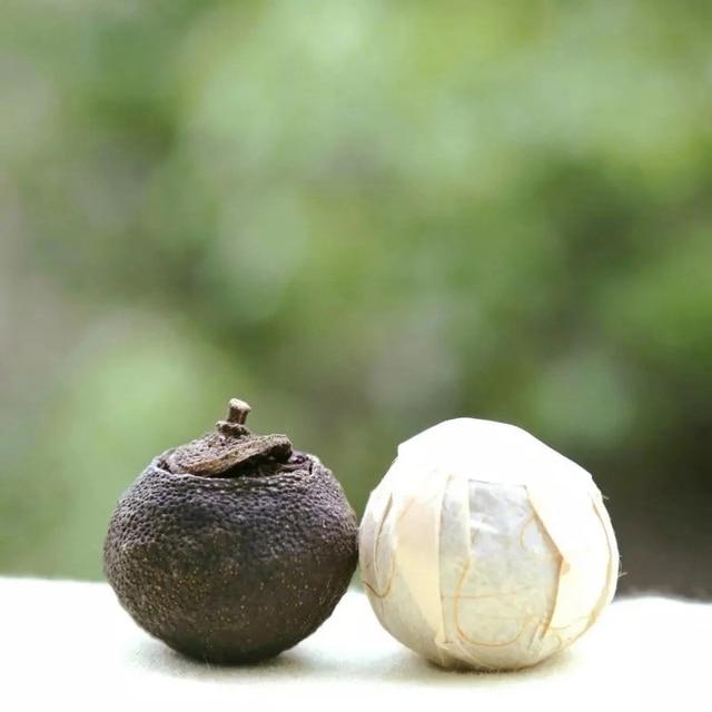 50 pc/bag Planta Natural Saco de Chá Chinês Pu'er Chá Qinggan Xinhui Tangerina Super Chá Tangerina Verde Escuro