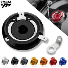 Motorcycle Reservoir Cup Engine Oil Filter Cover Cap M20*2.5 FOR KAWASAKI VERSYS 1000 ABS Z 1000/Z1000SX HYPERMOTARD SP 14-17 for kawasaki z800 2013 14 vn650 vulcan s 2015 2016 motorcycle m20 2 5 oil cap reservoir cup caps engine oil filter cover cap