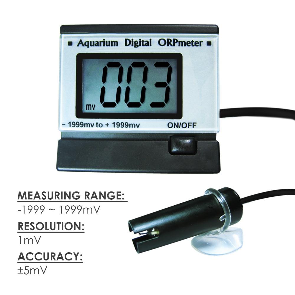 ポータブルデジタル Lcd ディスプレイミニ ORP REDOX メーターテスター 0 〜 +/ 1999mV 範囲電極 +/  5mV 精度  グループ上の ツール からの PHメーター の中 2