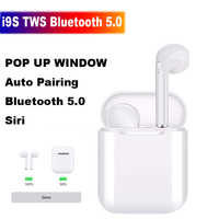 I9S TWS Wireless Earphone Portable Bluetooth 5.0 Headset Invisible Earbuds POP UP Window PK i11 i12 i16 i20 i30