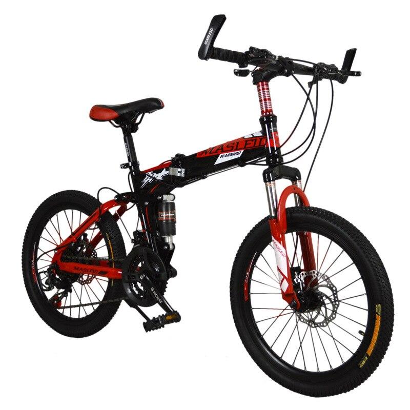 20 pulgadas de Acero de bicicletas bicicleta Plegable 21 velocidad plegable bici