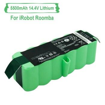 Litowy 5500 mAh 14.8 V akumulator do iRobot Roomba odkurzacz 500 600 700 800 880 980 serii