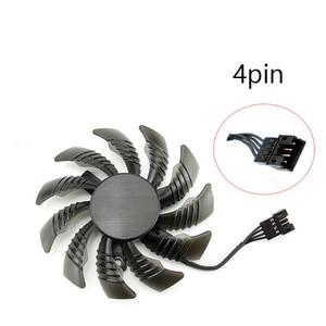 Image 3 - 3pcs 75MM T128010SU Cooling Fans For Gigabyte AORUS GTX 1080 1070 Ti Gaming Fan GTX 1070Ti G1 Gaming GPU Video Card Cooler Fan