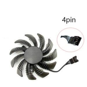Image 3 - 75 MILLIMETRI T128010SU Ventola di Raffreddamento Per Gigabyte AORUS GTX 1080 1070 Ti G1 Gaming Fan GTX 1070Ti G1 Gaming Video carta di dispositivo di Raffreddamento del Ventilatore