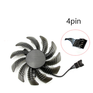 Image 3 - Ventilateur de refroidissement pour jeux vidéo GTX 1080/1070 Ti, 3 pièces, 75MM T128010SU, refroidisseur de carte vidéo GPU pour jeux GTX 1070Ti G1