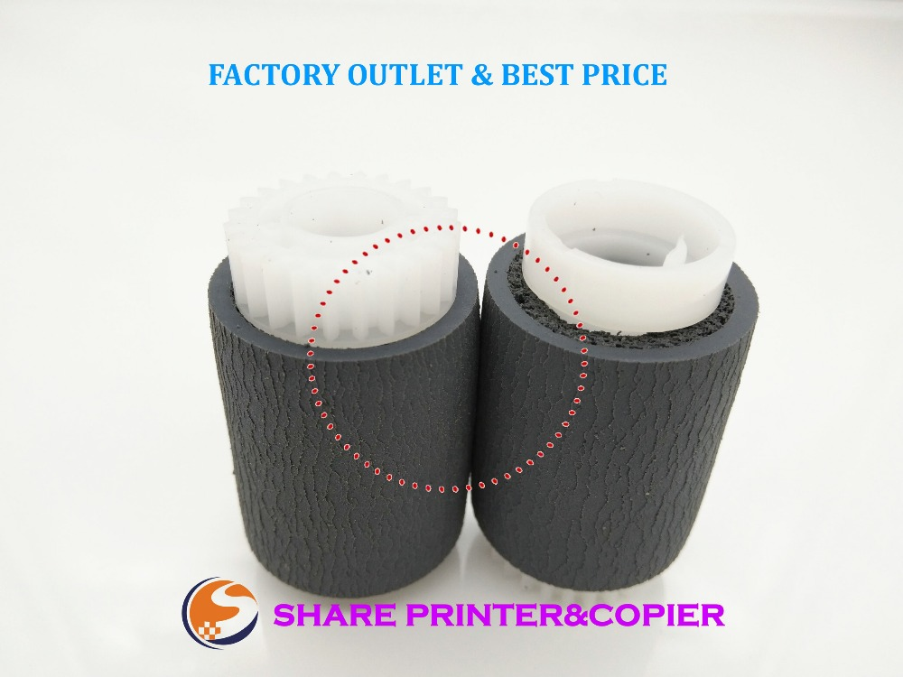 5X RM1-0036-020 RM1-0036-000 RM1-0036 Paper Pickup Roller for HP 4700 4730 4005 4200 4250 4300 4345 4350 5200 M600 6015 806 free shipping 100% new original wholesale for hp4200 4250 4350 4300 4345 pick up roller tray 2 1set rm1 0037 000 rm1 0036 000