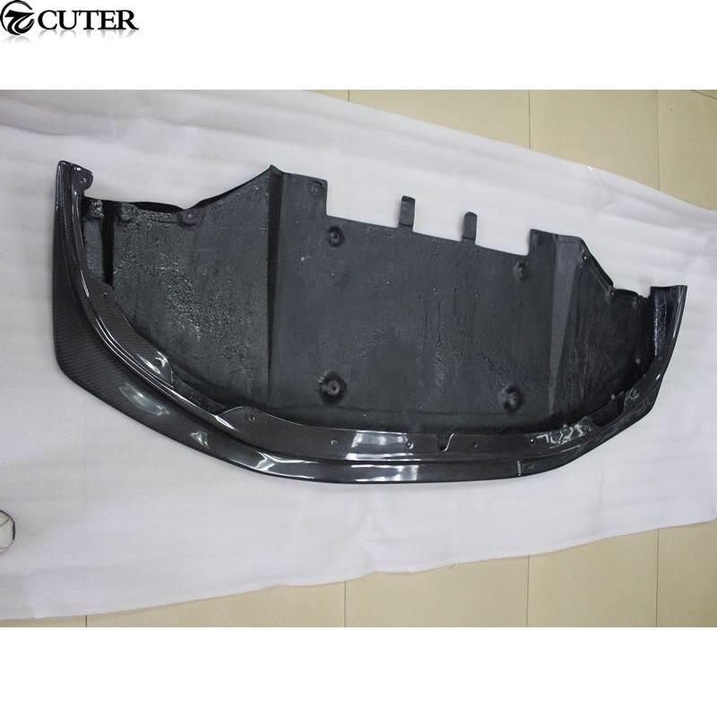 Diffuseur de pare-chocs avant à lèvre avant en fibre de carbone GTR GT-R R35 pour kit carrosserie Nissan GTR R35 08-13