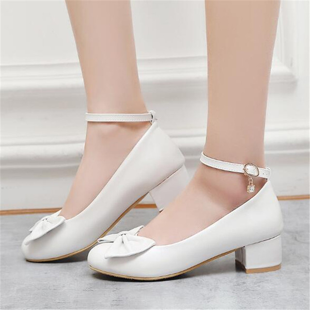 New High-heeled Children Fashion Shoes Girls Black Dress Performance Dance High heels Princess Kids Leather Shoes 04
