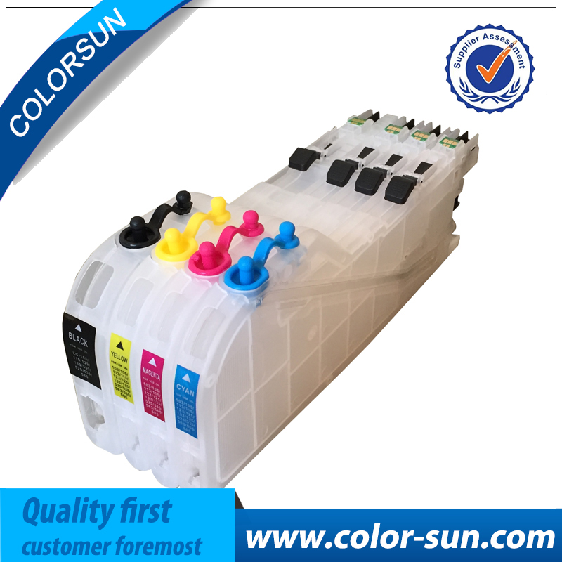 For Brother LC221 LC223 Refillable Ink Cartridge for Brother DCP-J562DW/ MFC-J480DW/ MFC-J680DW/ MFC-J880DW with ARC chips refillable ink cartridge for brother lc213 for brother mfc j4410dw j4510dw j4610dw j4710dw j470dw j6920dw dcp j4110dw j132w