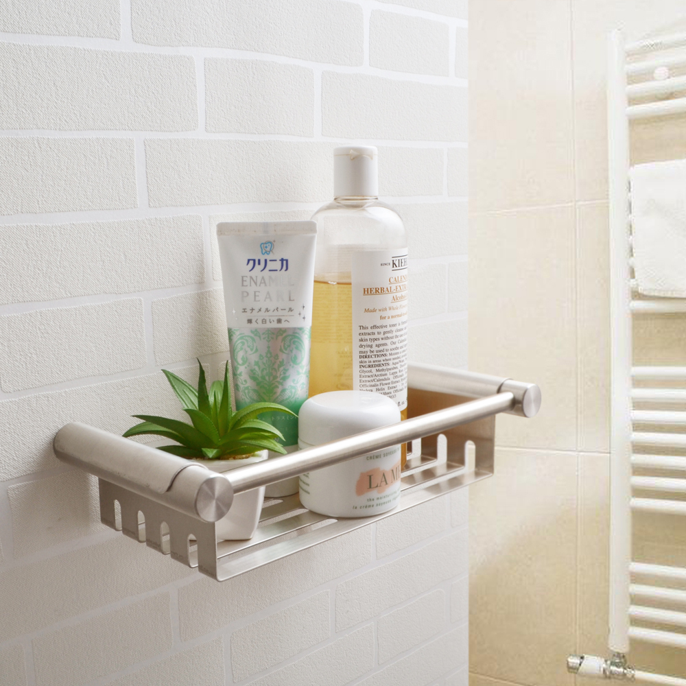 KES SUS 304 Stainless Steel Shower Caddy Bath Basket Storage Shelf ...