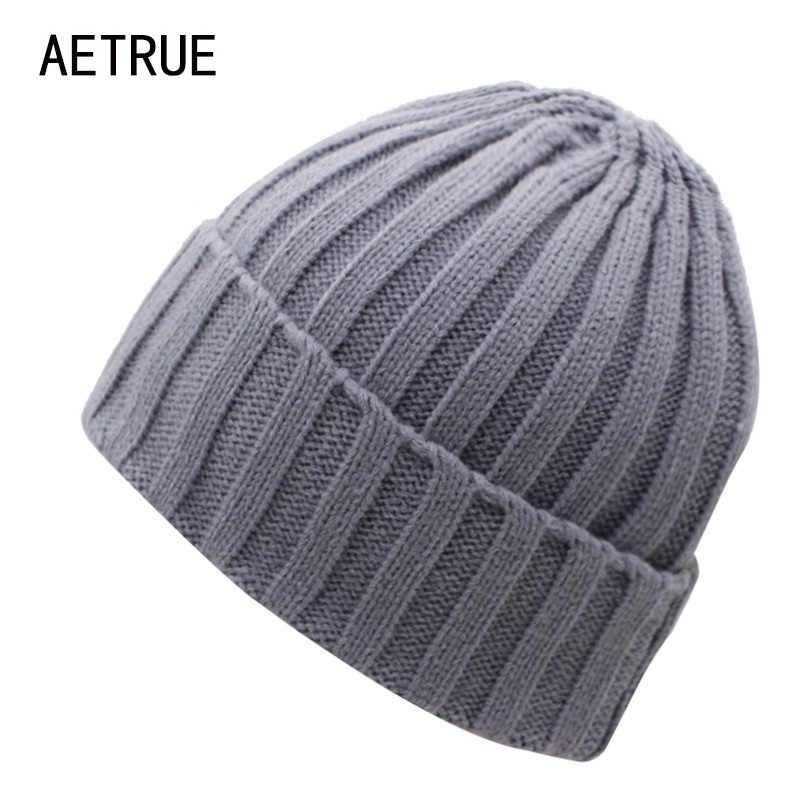 ... 2018 Arrival Beanies Women Knitted Hat Men Winter Hats For Women Bonnet  Caps Gorros Brand Warm ... 7dff32a54d8e