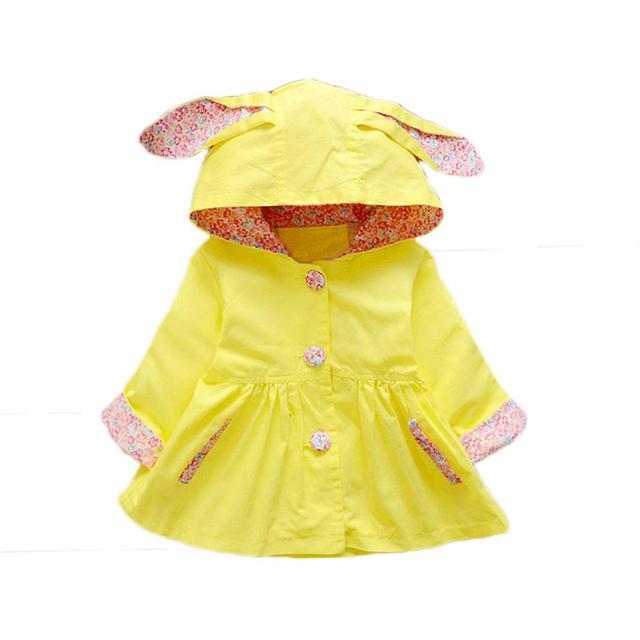 Aliexpress.com : Buy 1 2 3 Year Baby Girls Coat 2017 New Spring ...