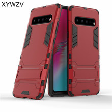 For Samsung Galaxy S10 5G Case Shockproof Armor Soft Silicone Rubber Hard PC Phone Back Cover