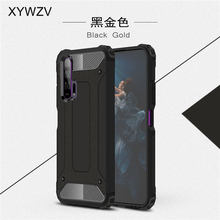 For Huawei Honor 20 Pro Case Soft TPU Silicone Armor Rubber Hard PC Phone Case For Huawei Honor 20 Pro Cover For Honor 20 Pro