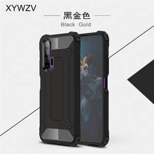 Image 1 - For Huawei Honor 20 Pro Case Soft TPU Silicone Armor Rubber Hard PC Phone Case For Huawei Honor 20 Pro Cover For Honor 20 Pro