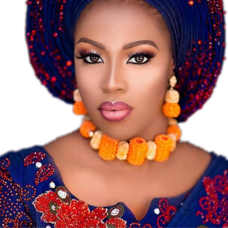 4UJewelry Orange African Dubai Gold Jewelry Set For Women Nigerian Wedding Bridal Earrings bracelet and Necklace Beads Free Ship4UJewelry Orange African Dubai Gold Jewelry Set For Women Nigerian Wedding Bridal Earrings bracelet and Necklace Beads Free Ship