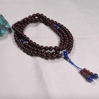 8 мм redsandalwood мала индийский redsandalwood бисерные украшения Тибетский 108 молитва Бусины тибетской молитвы