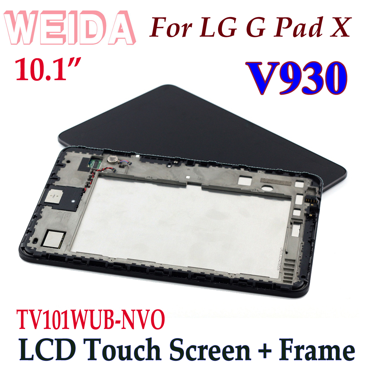 WEIDA LCD remplacement 10.1